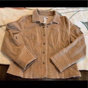AMI Tan Corduroy Jacket